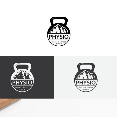 Bold Logo Concept for a fitness Studio