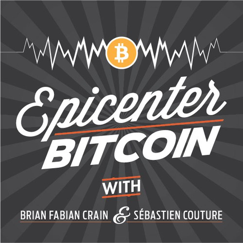 Podcast Cover Design: Epicenter Bitcoin