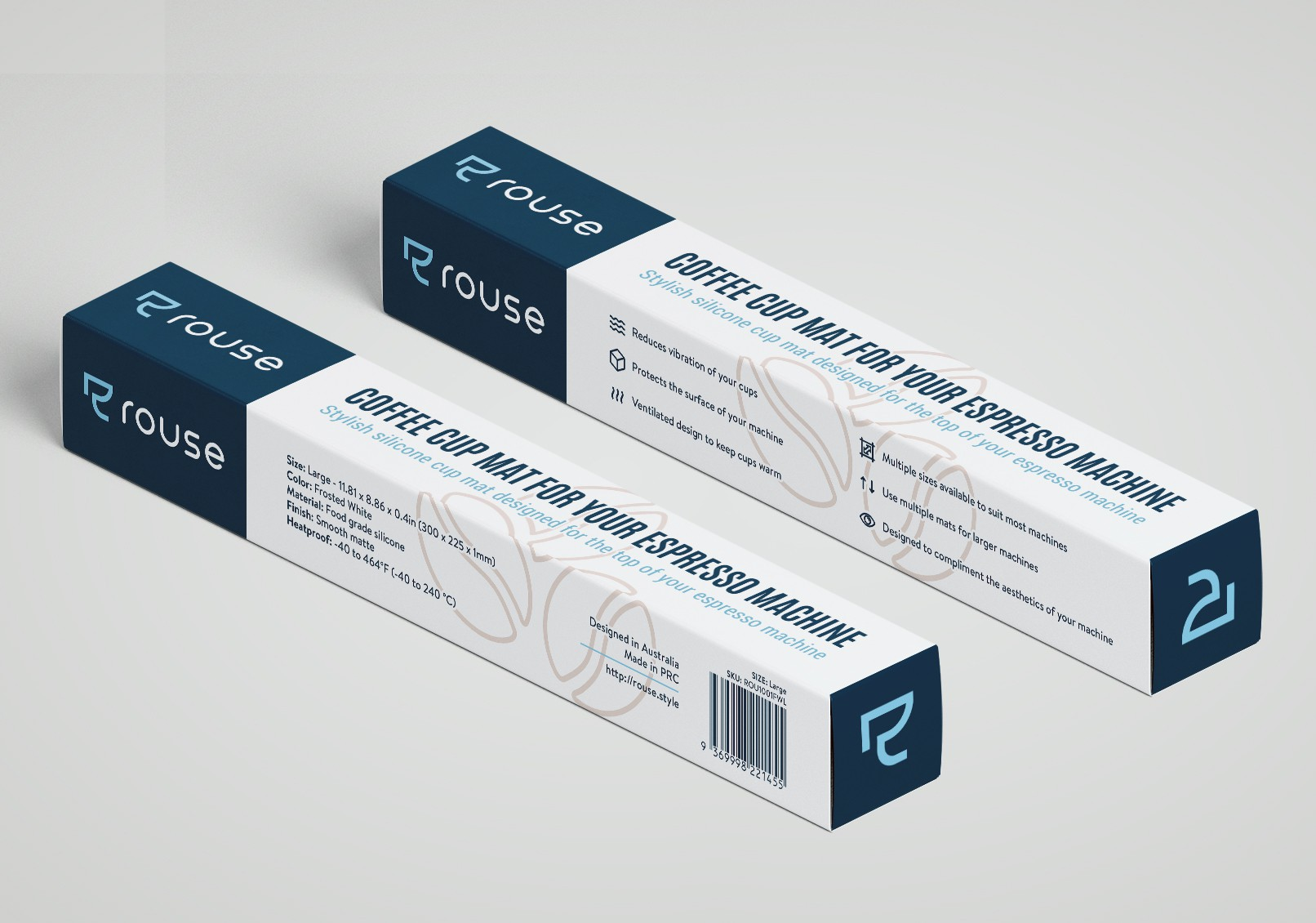 Packaging for a Silicon Coffee Cup Mat