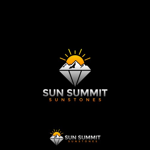 logo concept for SUN SUMMIT SUNSTONES