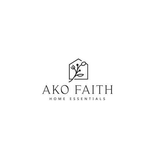 """Logo concept for """"Ako Faith"""""""