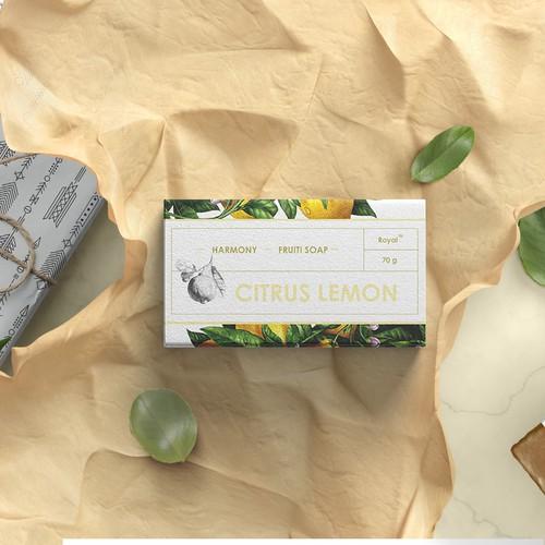 Design the bag of new line Shower soap