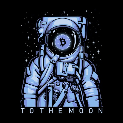 Pure Crypto Shirts to the MOON!