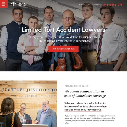 Attorney & Law firm website design