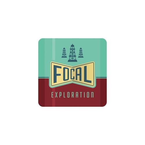 Logo oil exploration