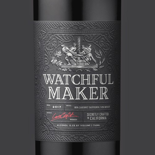 Watchful Maker Wine Label