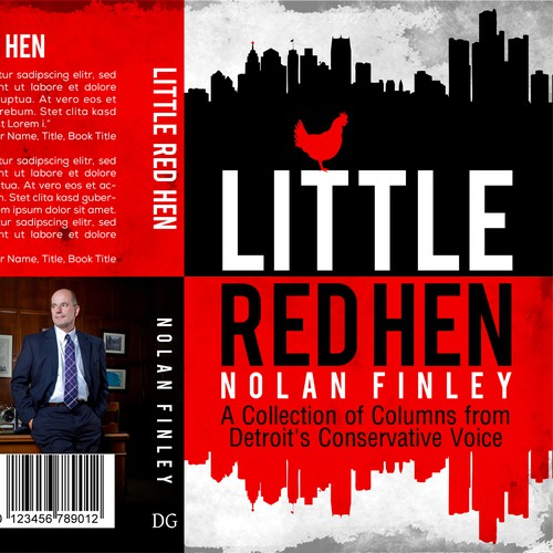Book Cover Little Red Hen