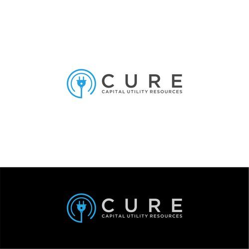 logo concept cure