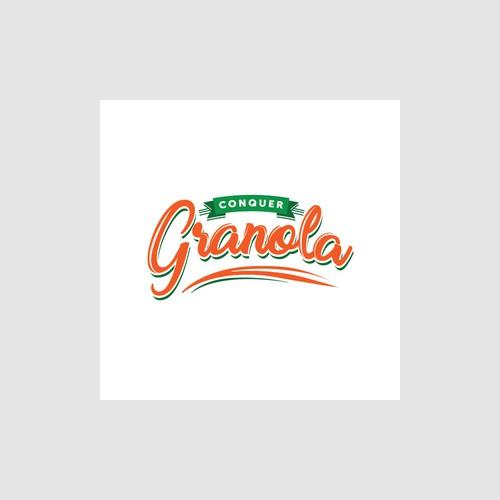 Logo concept for a granola product