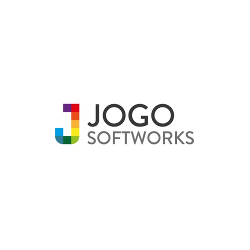Design a software company logo for Jogo!
