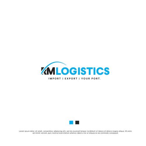 Bold Logo For Logistics