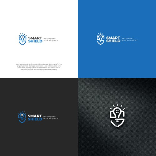 Logo for poperty management company