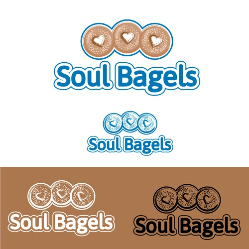 Logo Concept for Soul Bagels