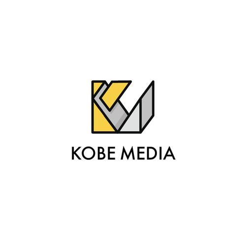 Clean and bold media company logo