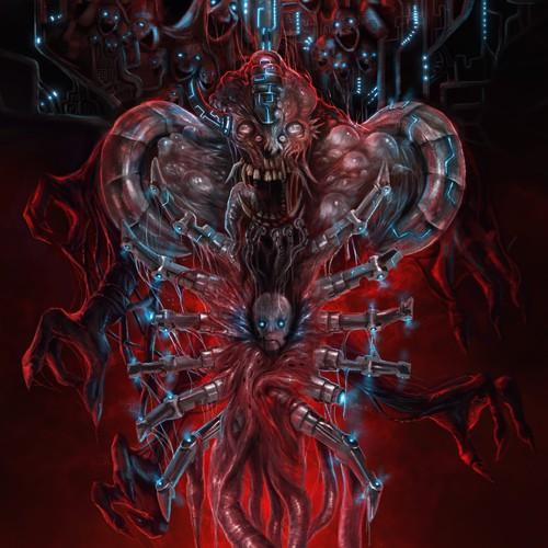 sci fi horror cover art