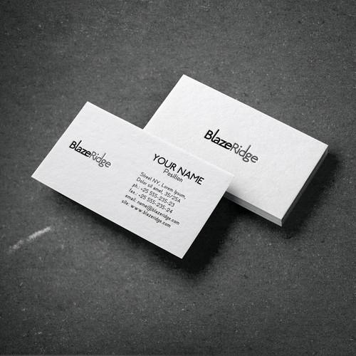 Modern Bussines card