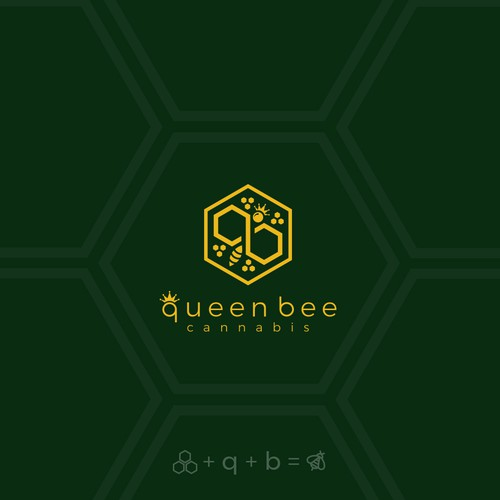 Modern Logo Concept for Queen Bee Cannabis