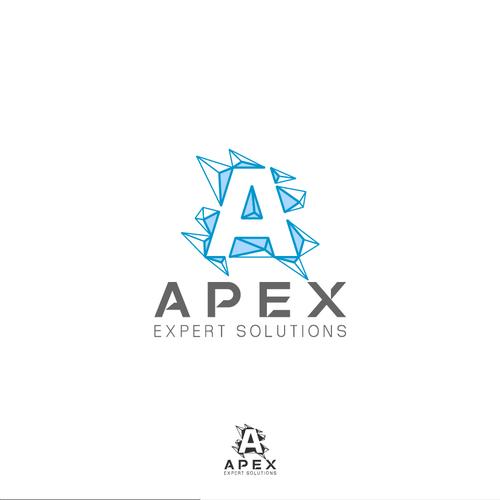 Letter A logo concept.