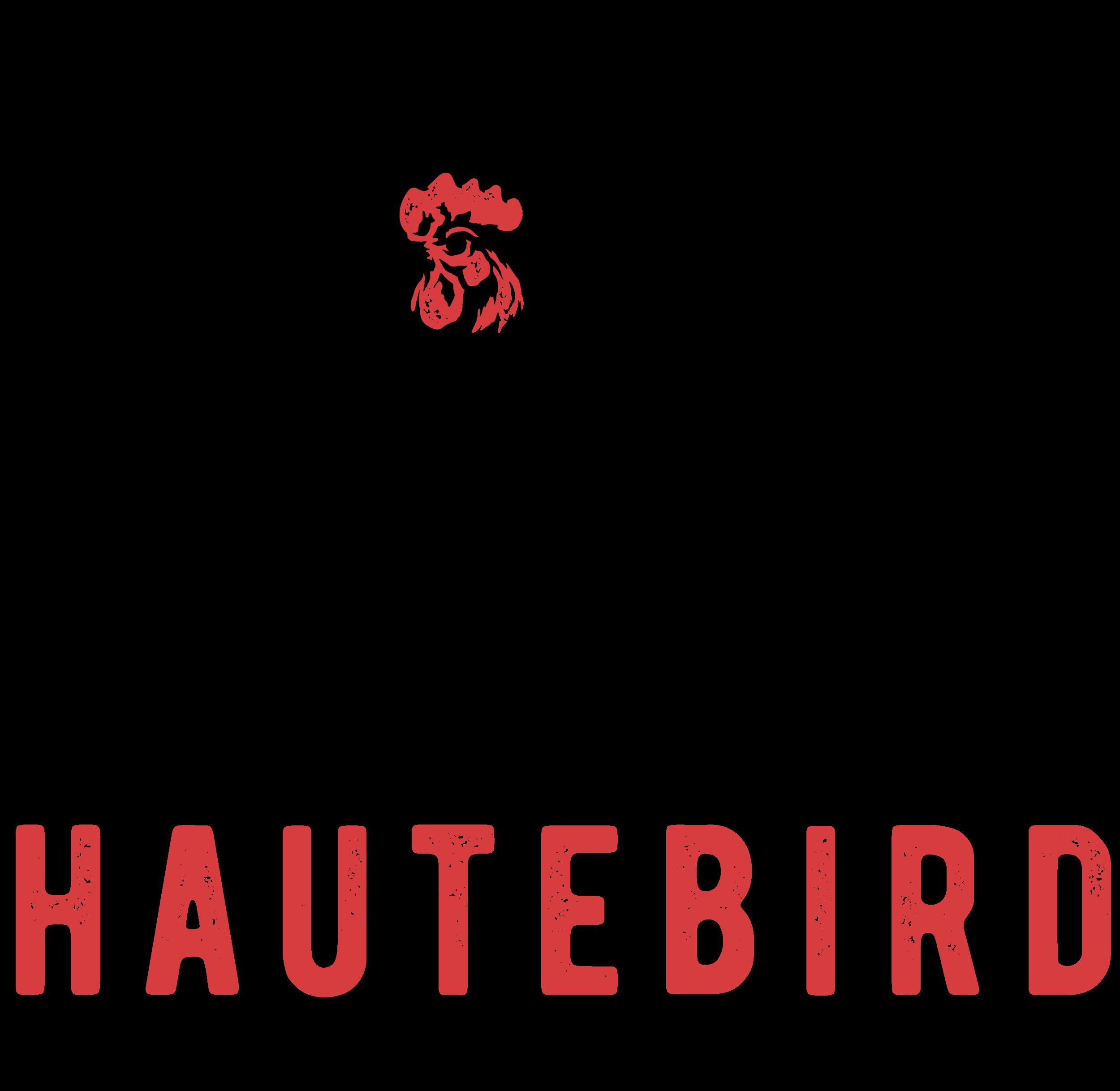 "Global comfort food fine-casual ""Haute Bird"" needs a strong logo design"