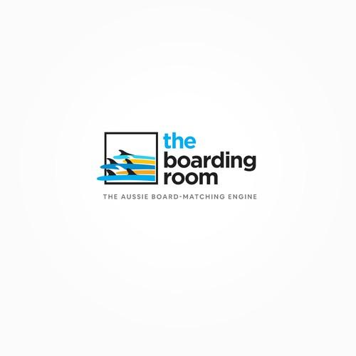Logo for an Aussie Surfboard e-Shop