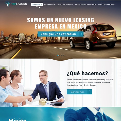 Top Leasing Website Design