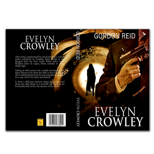 Evelyn Crowley book cover contest