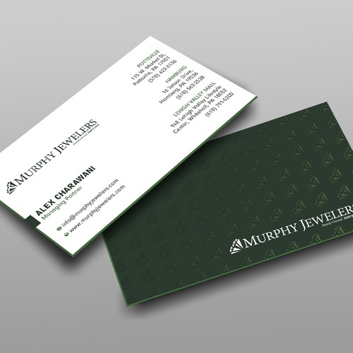 Retail Jewelry Store Business Card