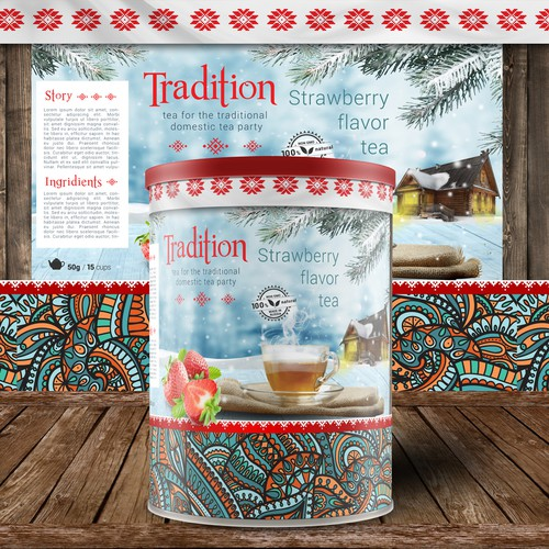 Tradition russian tea