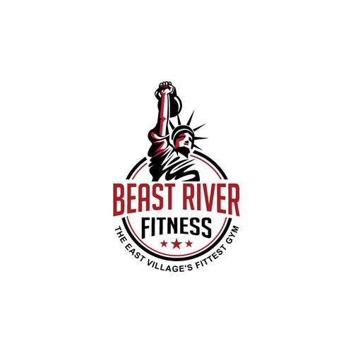 Logo for Beast River Fitness