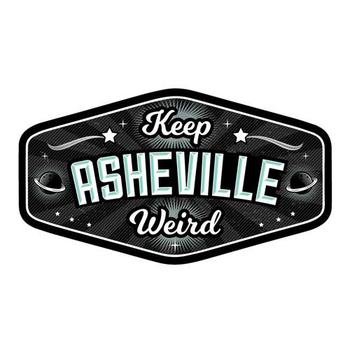 Keep Asheville Weird Logo