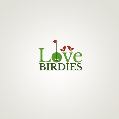 Golf + Dating = Lovebirdies!  We need a logo to attract single golfers.