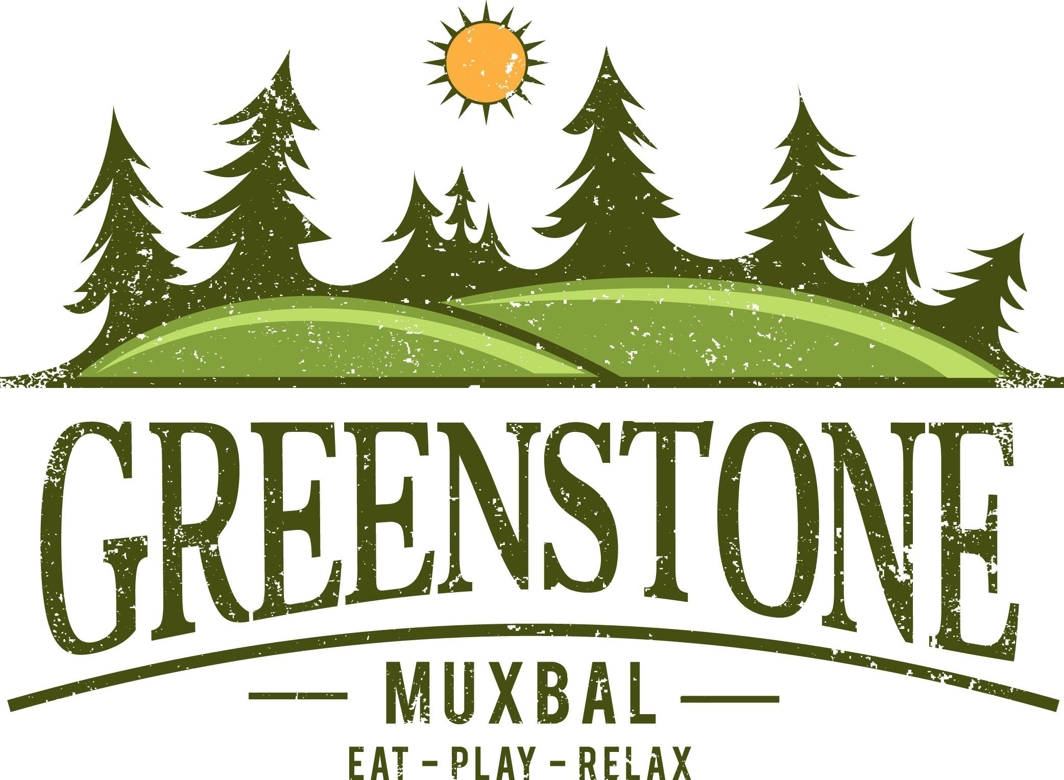 GREENSTONE LOGO... cool camping style logo!