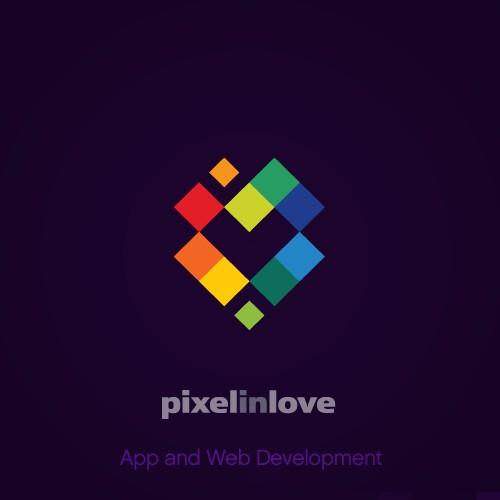 Logo design for Pixel In Love