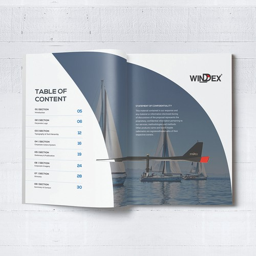 Brand Guide for a Boating Product