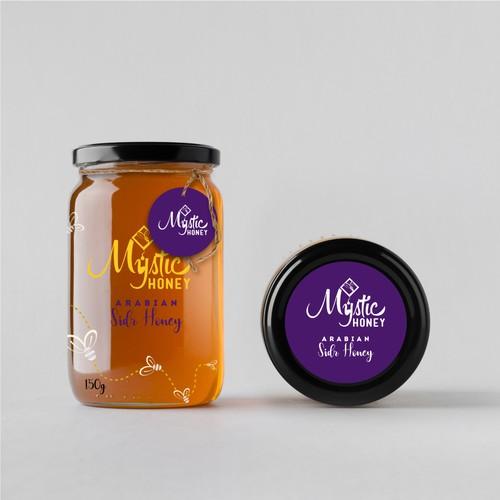 Honey Jar Packaging Design