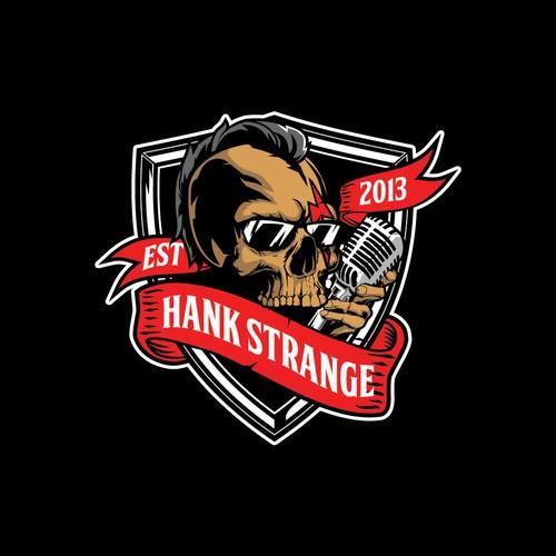 skull mohawk for HANK STRANGE logo