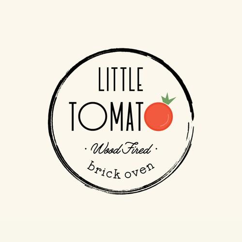 Little Tomato Restaurant Logo Identity Pack