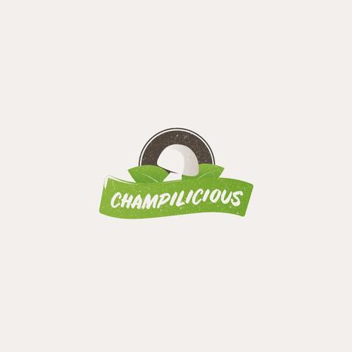 Logo design for Champilicious