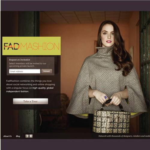 Create the next logo for FadMashion - The Premier Fashion marketplace