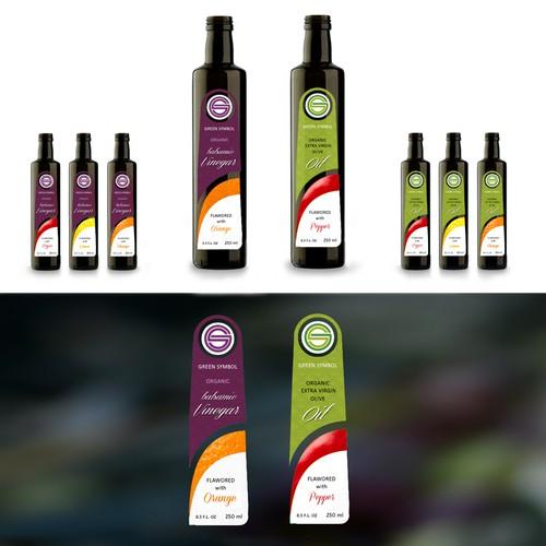 Etichetta olio aromatizzato