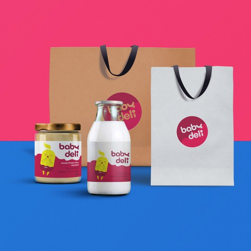 Babydeli - Baby Food Brand Design
