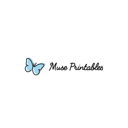 Cute Logo For A Crafty Printables Company