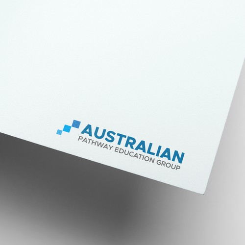Create a professional, sophisticated logo for an Australian education group