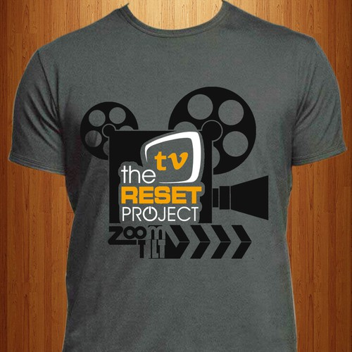 The TV Reset Project - Signature Tee Design Contest