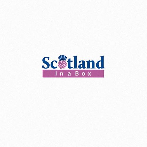 Upmarket logo for Scottish retail company