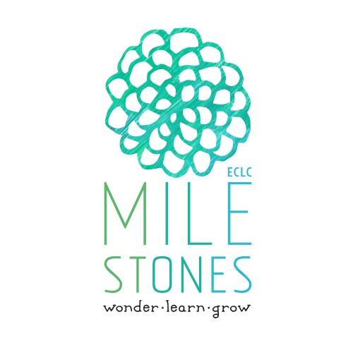 Organic, nature logo design for a preschool.