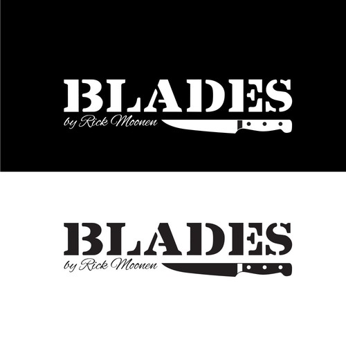 Logo for Blades by Rick Moonen