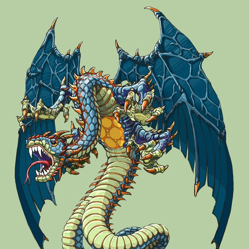 Fantasy Dragon, Snake Design