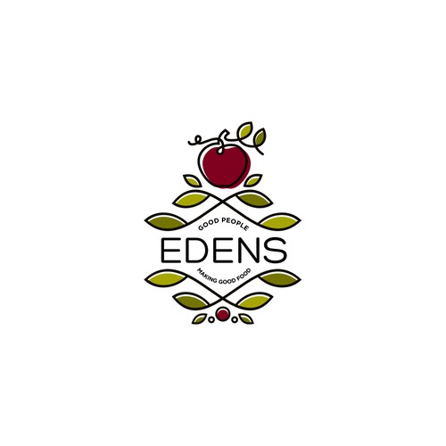 Unique logo for Edens