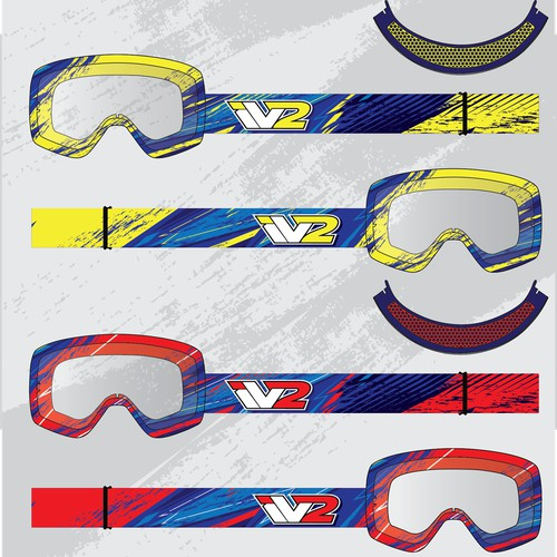 Wild & Bold Goggles Designed by YOU!
